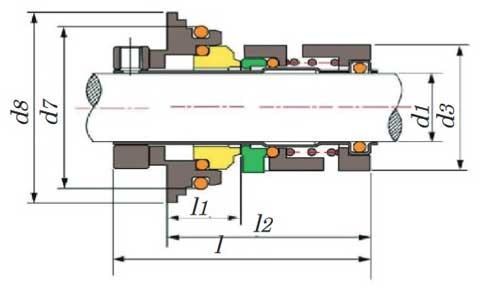 نقشه-ابعاد-مکانیکال-سیل-گراندفوس-سری-cr-1