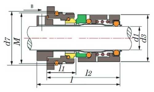 نقشه-ابعاد-مکانیکال-سیل-گراندفوس-سری-cr
