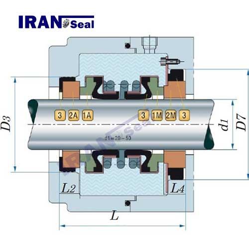 نقشه-اجزاء-مکانیکال-سیل-r-560d