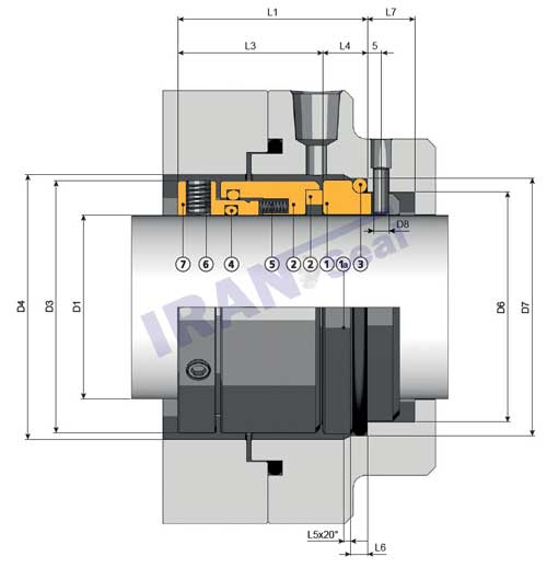 نقشه-فنی-مکانیکال-سیل-dr2-s