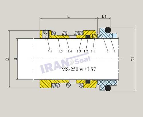 نقشه-فنی-مگاسیل-ms-250