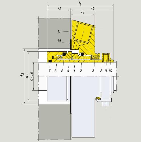 نقشه فنی مگاسیل ms kartus 910 t